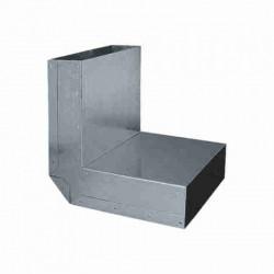 Kanal plochý - koleno strop 150x50